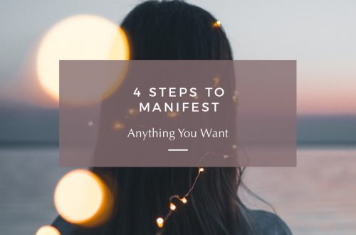steps to manifest anything