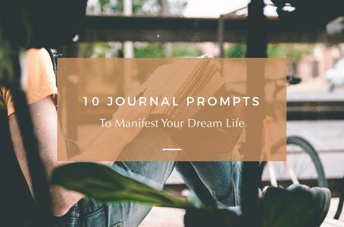 journal prompts for manifestation