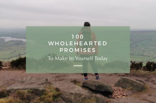 wholehearted promises