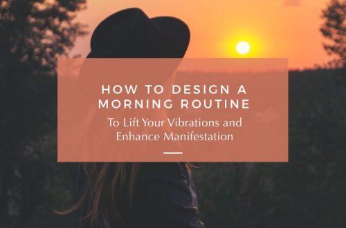 morning routine for manifestation
