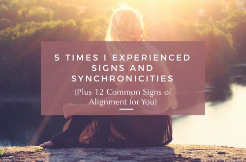 signs and synchronicities