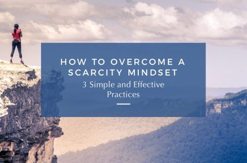 how to overcome a scarcity mindset