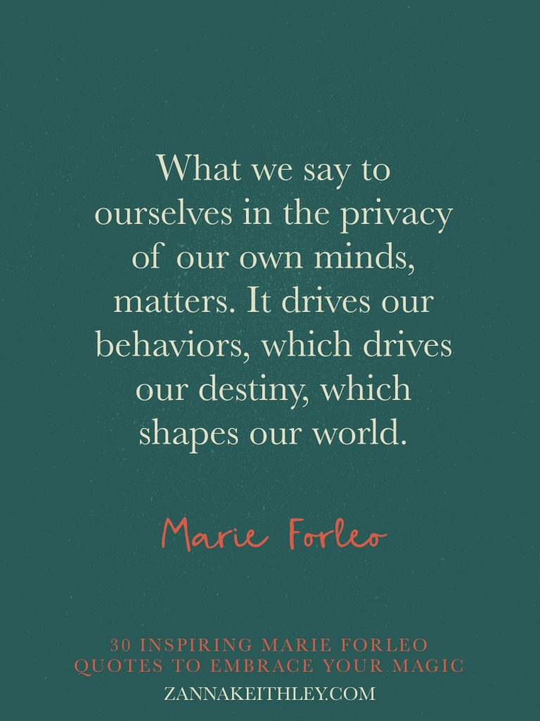 Marie Forleo quotes