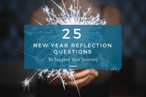new year reflection questions