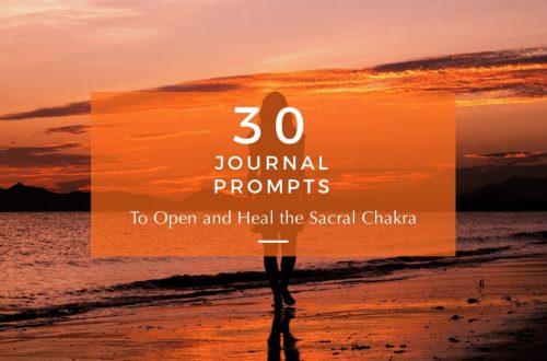 sacral chakra journal prompts