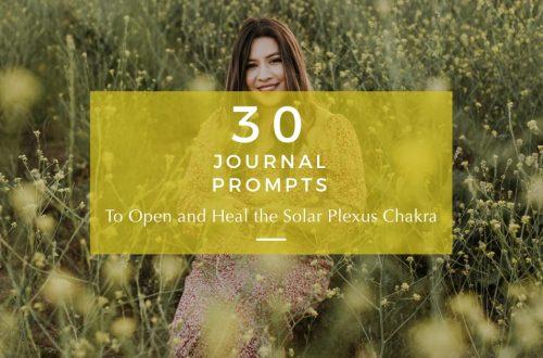 solar plexus chakra journal prompts