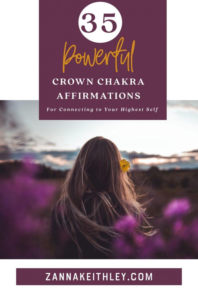 crown chakra affirmations