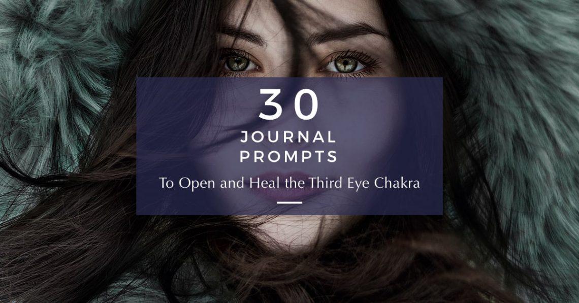 third eye chakra journal prompts