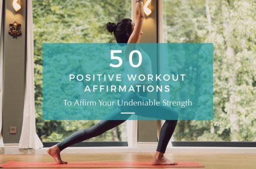 positive workout affirmations