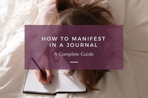how to manifest in a journal