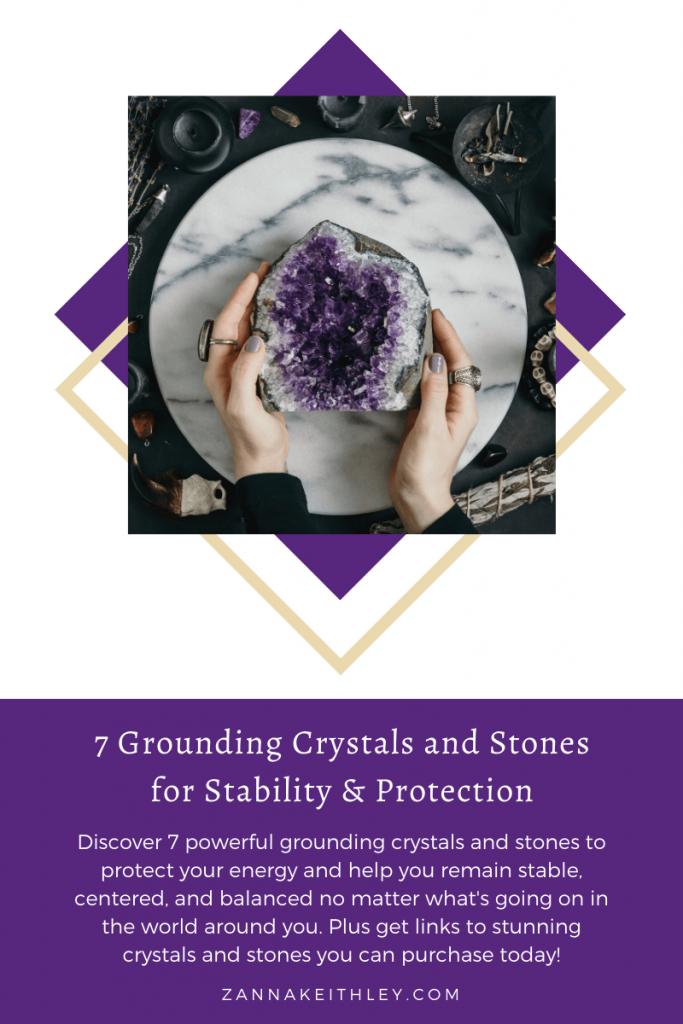 grounding crystals