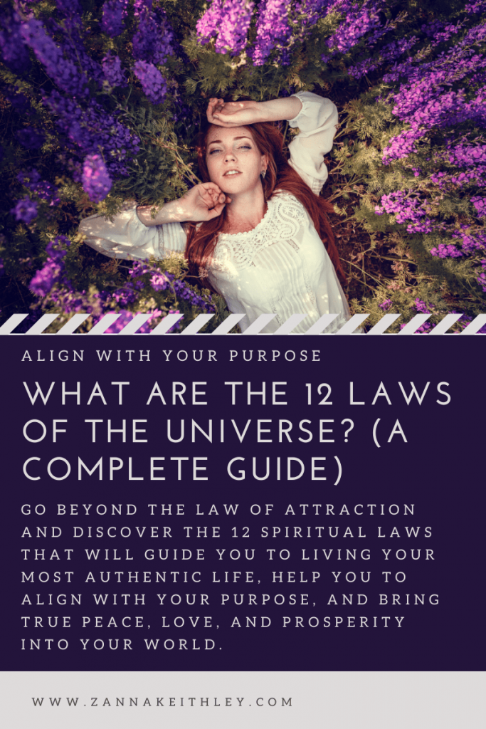12 laws of the universe