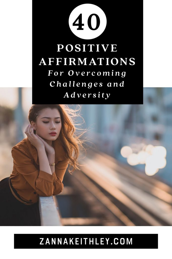 affirmations for overcoming challenges