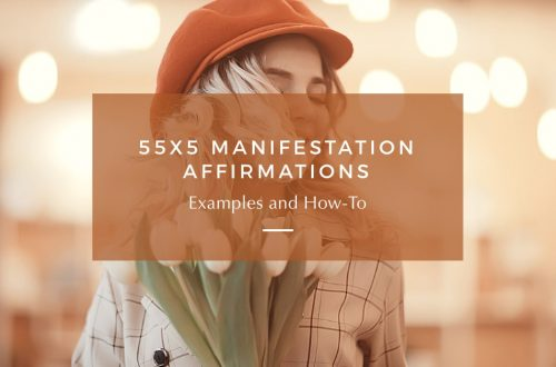 55x5 Manifestation Affirmations