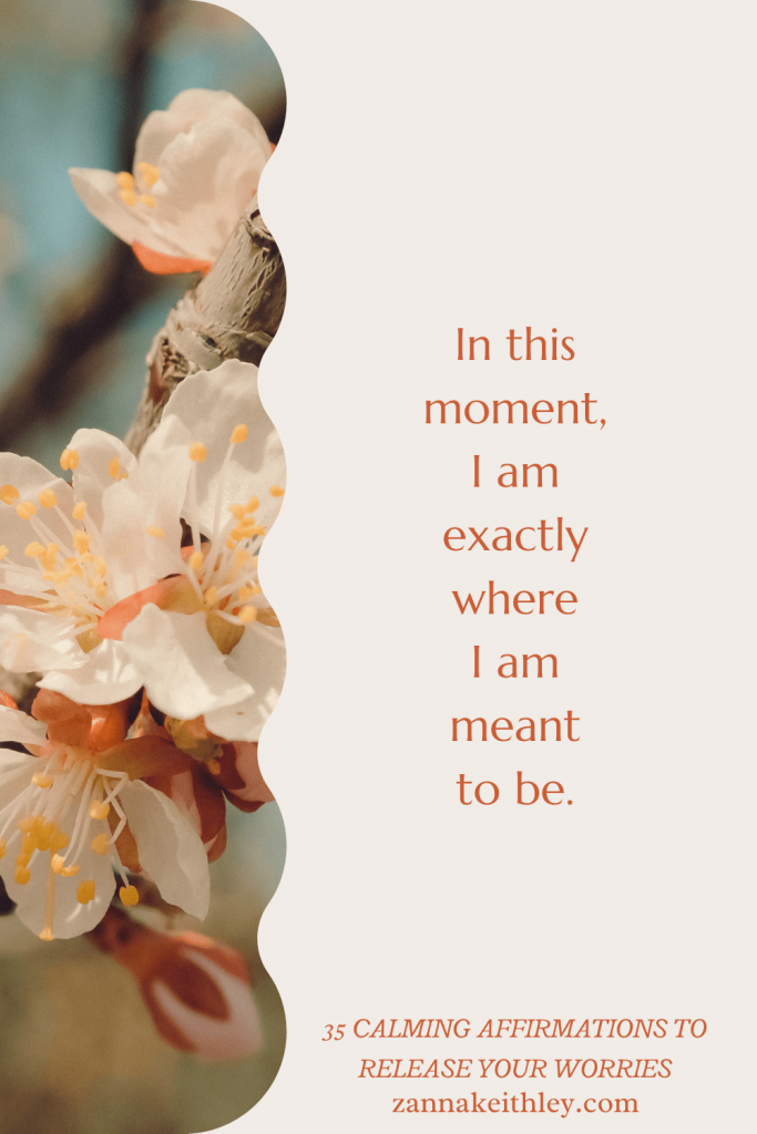 calming affirmations