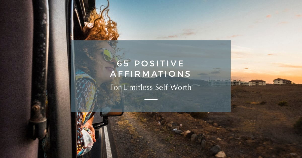 affirmations for self-worth
