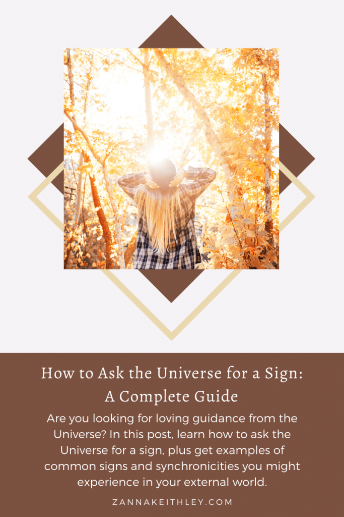 How to Ask the Universe for a Sign
