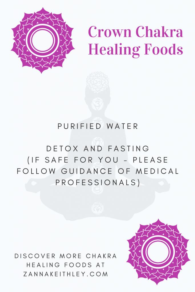 healing crown chakra foods