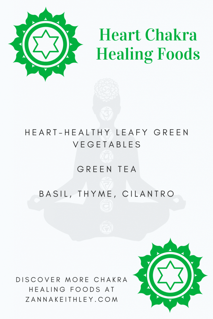 healing heart chakra foods