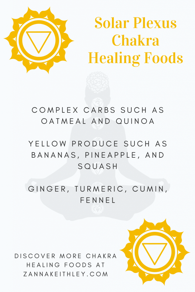 healing solar plexus chakra foods