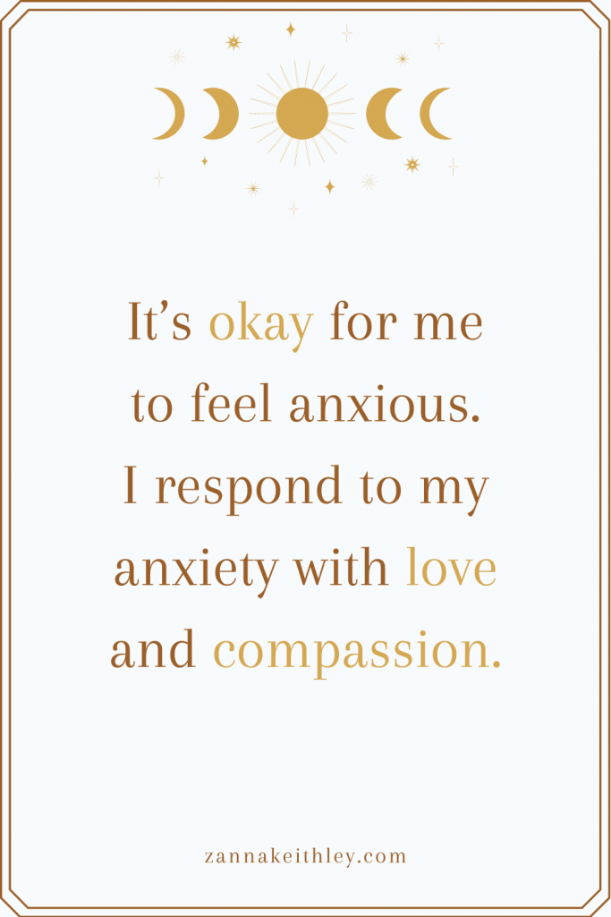 affirmations for social anxiety