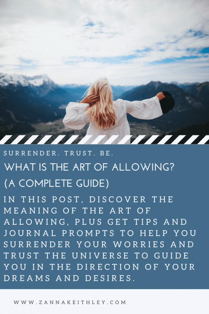 the art of allowing