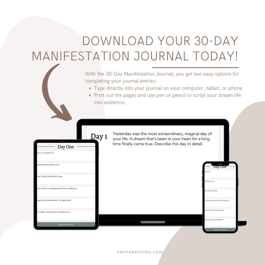 manifestation journal scripting journal